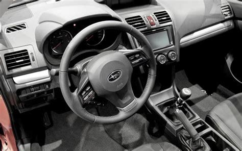 2012 Subaru Forester Interior Subaru Xv