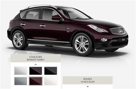garnet color code what is the color code of the ex35 s currant metallic
