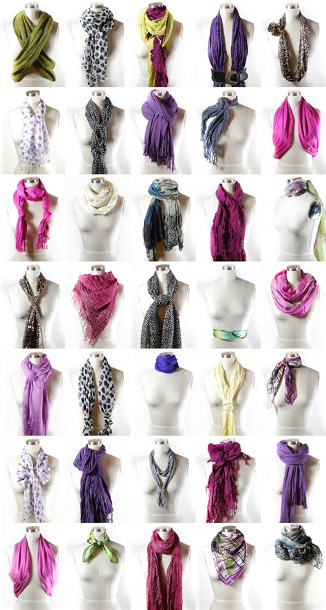 7 Ways To Tie A Scarf Or Pashmina by 40 Ways To Wear Your Winter Scarf Ties Scarfs And Tie A