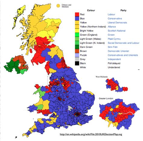english pattern races changing geographical patterns in british elections
