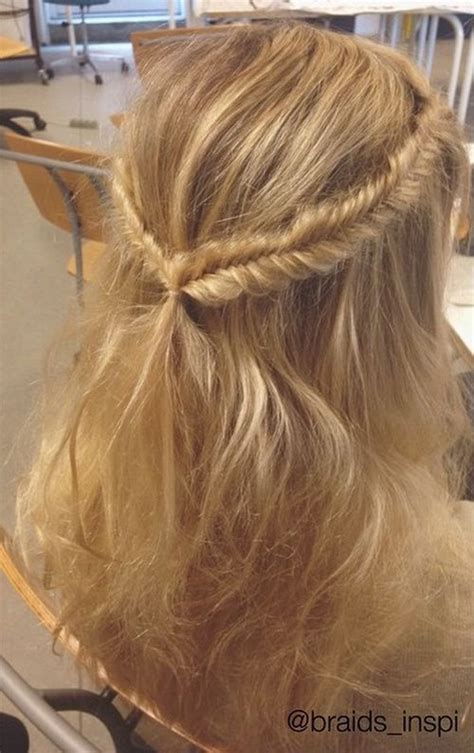 braided hairstyles for thin hair 38 perfectly imperfect messy hairstyles for all lengths