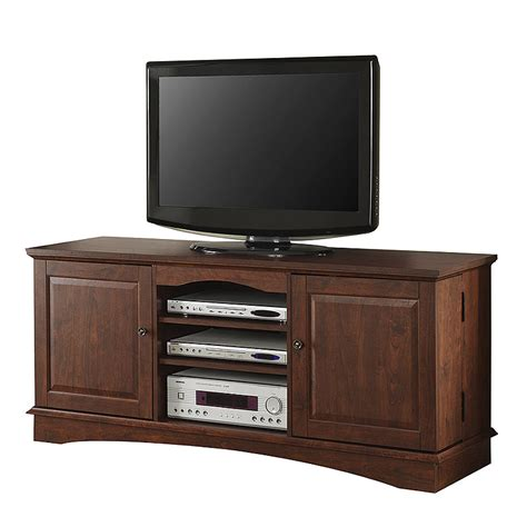 60 inch media cabinet walker edison 65 inch tv console with media storage traditional brown wq60c73tb