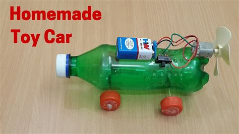homemade electric toy car motor powered