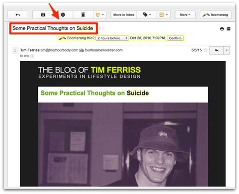 Tim Ferriss Email Detox by 13 Insanely Clickable Email Subject Line Exles Backed