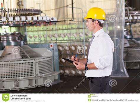 textile production manager royalty free stock photos image 27309818