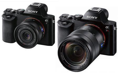 Kamera Sony A7r Ll spiegellose vollformat modelle sony a7 a7r ab nov