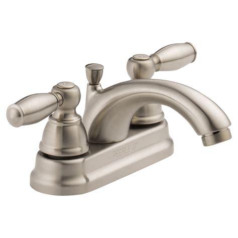 Peerless P299675lf Bn Two Handle Lavatory Faucet