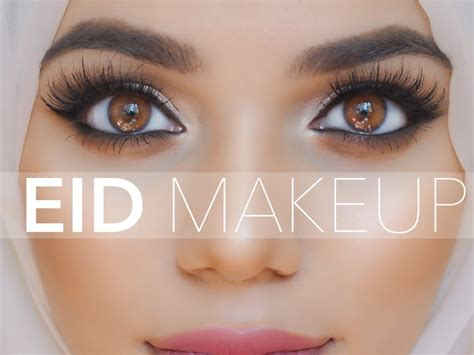 tutorial makeup simple hijab eid makeup hijab tutorial oufit look two youtube