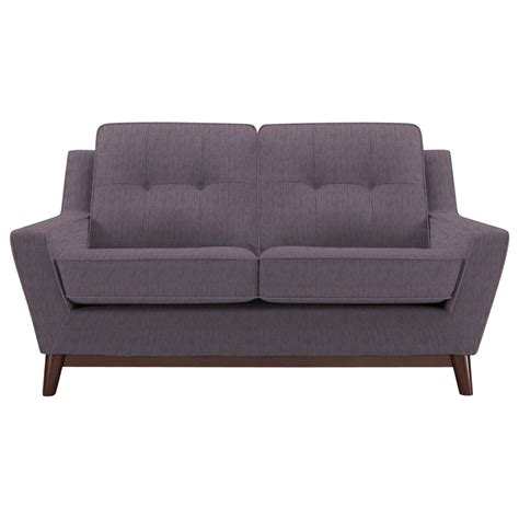 sofa snuggler g plan vintage the fifty three small sofa weave plum