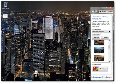 themes of new york new york skyline windows 7 theme download