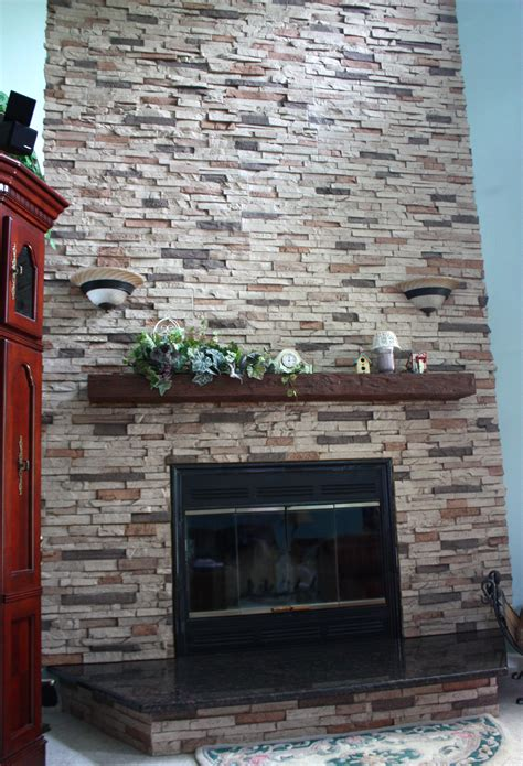 Fireplace Remodel with Shelf, Panels   Faux Wood Workshop