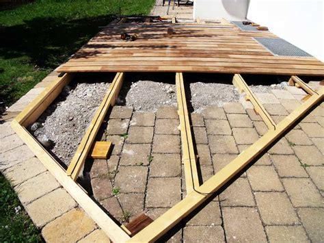 terrasse untergrund alpha wing verlegesystem schnell verlegen leichte