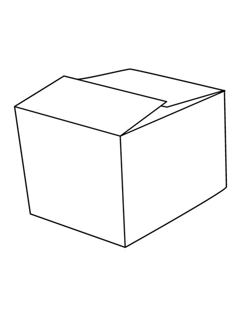 box coloring pages 11