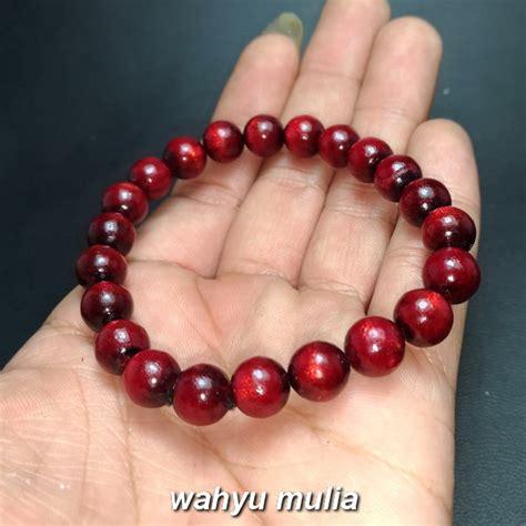 Gelang Tali Arus Merah gelang kayu tali arus merah akar bahar asli kode 869
