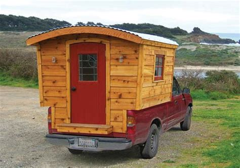 Tumbleweed Tiny House Company by Wood Design Plans Popular Homemade Truck Campers Plans