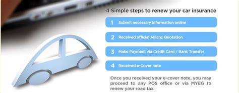 Car Insurance Renewal by Renew Car Insurance Malaysia Pay With Credit