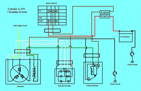 charging system diagram charging system wiring diagram 1976 ford f250 charging