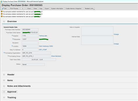 sap ui layout vertical tray like user interface for purchase order