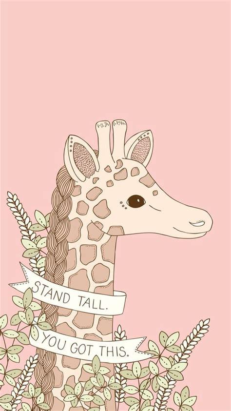 giraffe wallpaper pinterest stand tall you got this giraffe wallpaper wallpapers