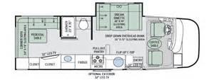class b motorhome floor plans rv floor plans class a gurus floor