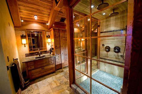mobili da bagno rustici foto di 25 bagni rustici per idee di arredo con questo