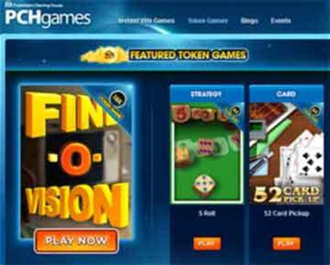 Pch Play Win Games - what are pch token games and how do i sign up