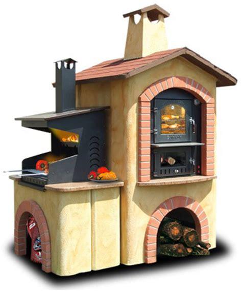forni in muratura da giardino prezzi forum arredamento it barbecue a legna con forno combinato
