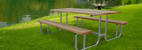 picnic table frames duralume picnic tables durable aluminum frame picnic tables