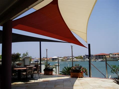sail awnings for decks deck shade sails brisbane sailmaker shade sails