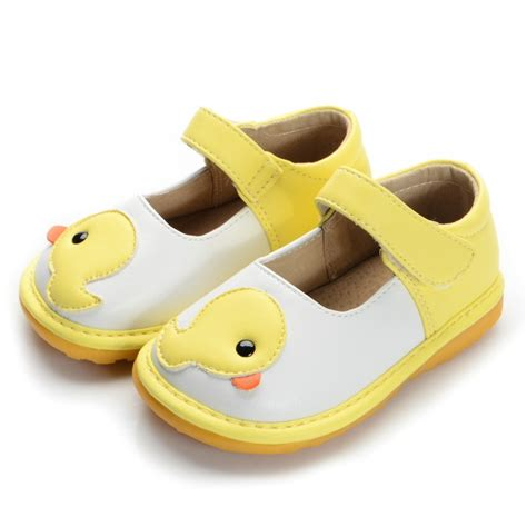 toddler yellow shoes yellow duck toddler squeaky shoes size 3 4 5 6 7 8 9