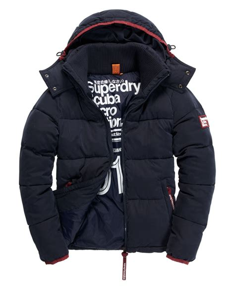 Gp Puffer Jacket Jacket Branded new mens superdry decompression puffer jacket navy ebay