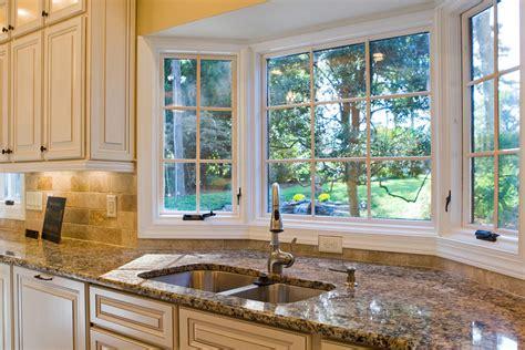 Kitchen Bay Window Decorating Ideas Ideas For Kitchen Windows Stylish Kitchen Design Kitchen