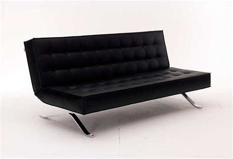 Black Leather Loveseat Sleeper by Black Leather Sofa Sleeper Vg44 Sofa Beds
