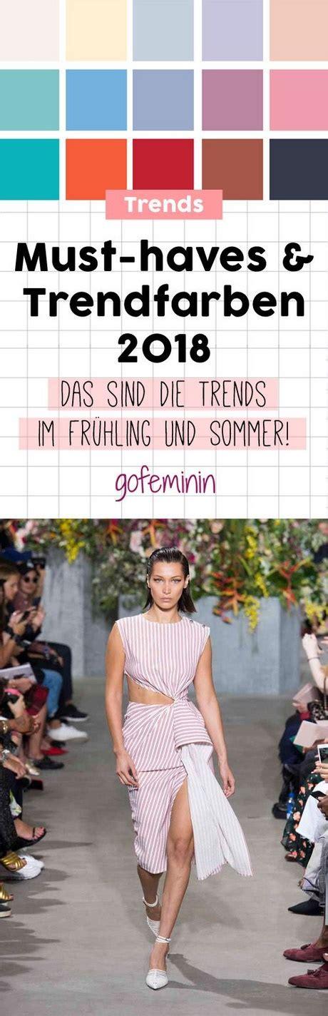 trendfarben 2018 mode trend sommerkleider 2018