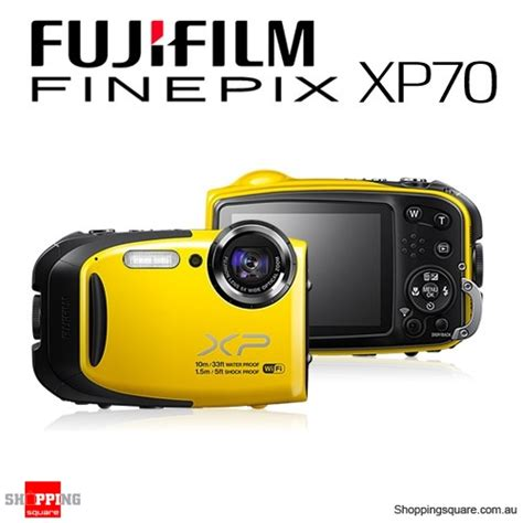 Fujifilm Finepix Xp70 fujifilm finepix xp70 waterproof yellow shopping shopping square au