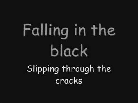 black lyrics skillet falling inside the black lyrics youtube