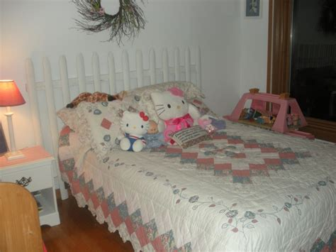 little girl headboard ideas fence headboard for a little girls room decorating