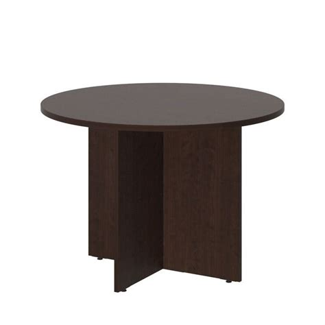 Cherry Conference Table Bush Business 42w Conference Table Wood Base In Mocha Cherry 99tb42rmr