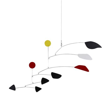 Extendable Oval Dining Table Mid Century Modern Calder Mobile