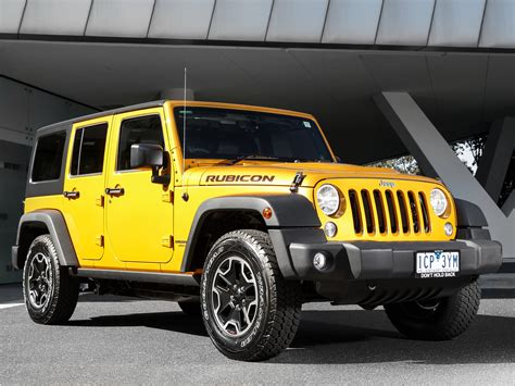 2015 Jeep Unlimited Rubicon 2015 Jeep Wrangler Unlimited Rubicon X Yellow Jeep