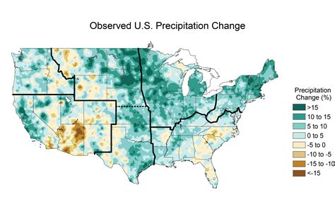 united states climate map climate changes in the united states image of the day