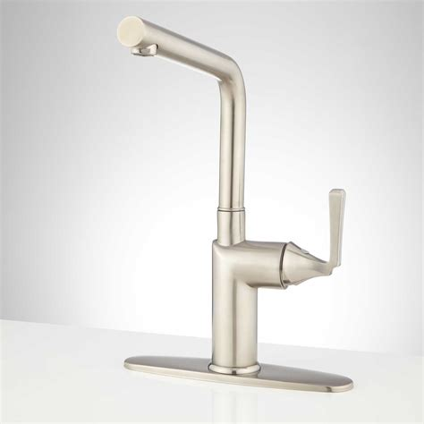 kitchen faucet plate signature hardware kitchen faucet with deck plate