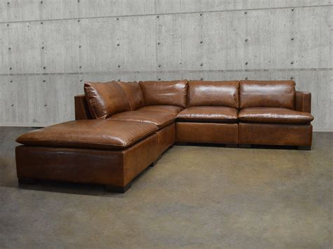 modular sectional sofa leather modular leather sectional sofa coaster quinn transitional