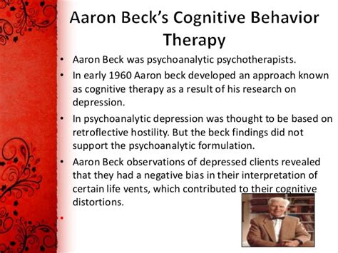 cognitive biography definition cognitive behavior therapy theory and practice