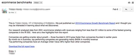 How To Start A Business Email 7 Exles Of Emails That Are Doing Nothing To Encourage A