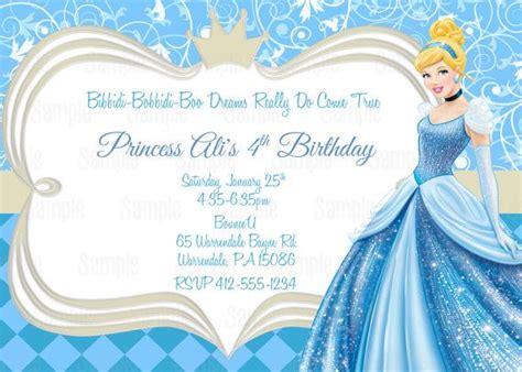 25 Best Ideas About Cinderella Party Invitations On Pinterest Princess Birthday 1st Birthday Free Cinderella Birthday Invitation Template