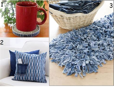 denim craft projects the of up cycling craft ideas with