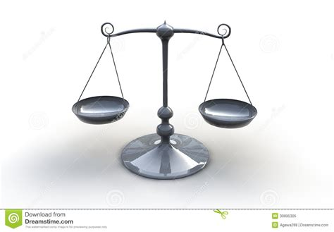 Fashioned Scales Silver Scales Royalty Free Stock Photo Image 30895305
