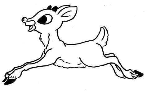 coloring page rudolph rudolph reindeer coloring pages download and print for free