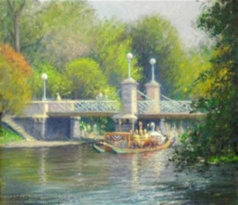 swan boats montreal david h lowrey gallery artists the art guide